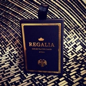 Black Regalias. I love the feel of these cards and the gold foil in the cards just make this a beaut