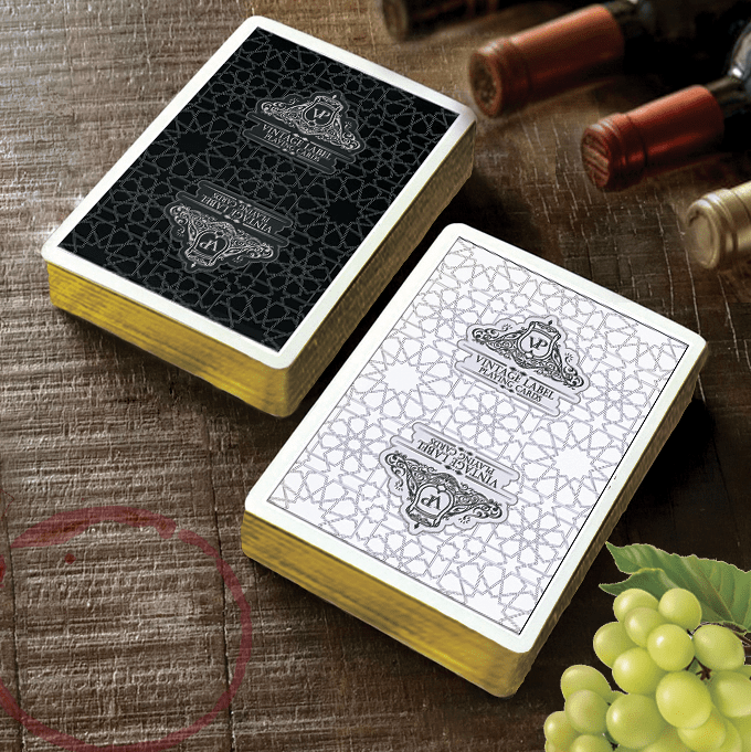 NOW ON KICKSTARTER! These wine themed playing cards are full of flavour, offering both premium quali