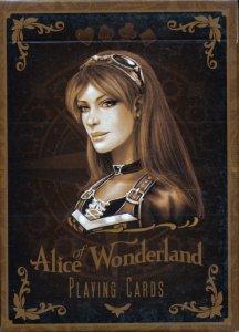 Alice In Wonderland Gold Deck FrontAlice In Wonderland Silver Deck FrontArcane Black Deck FrontArcan