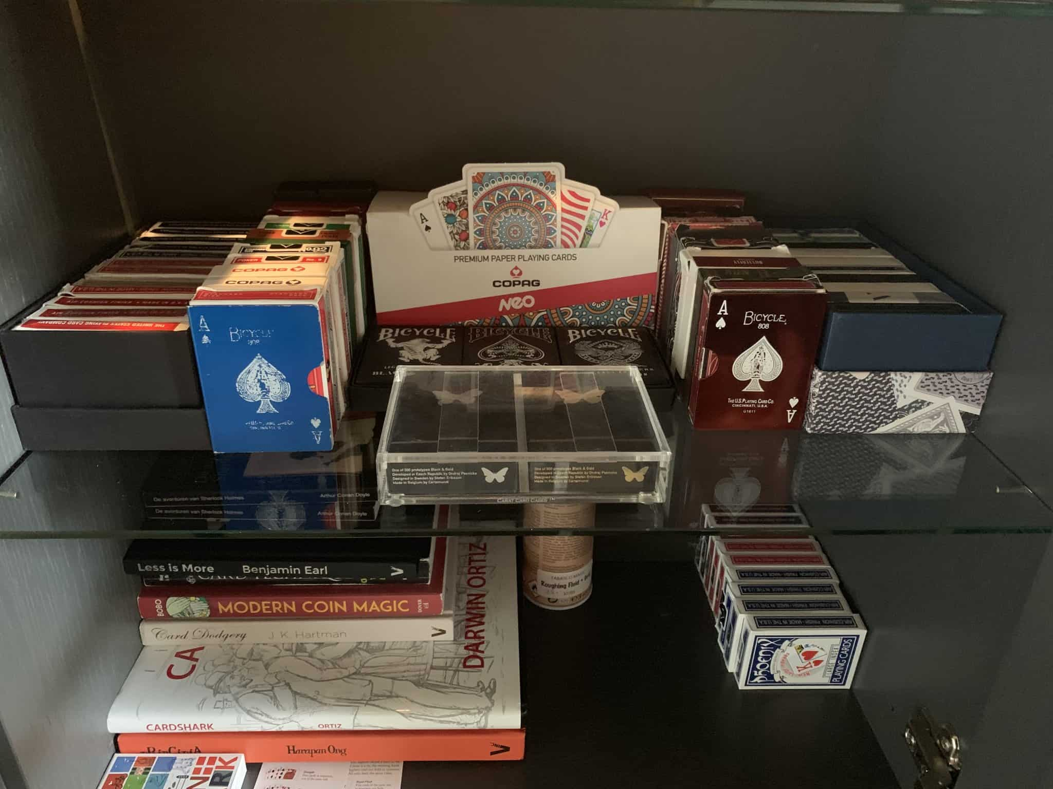 All my decks… Started collecting cards as a consequence to doing magic, now it's kore of an