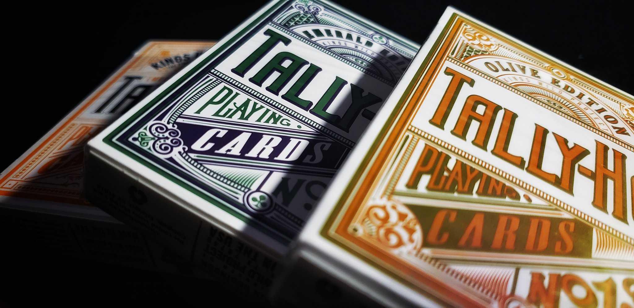 Photo shoot of the kings wild Tally Ho decks IG:@k13pt0 20190821_073417-0120190821_073332-04-0220190