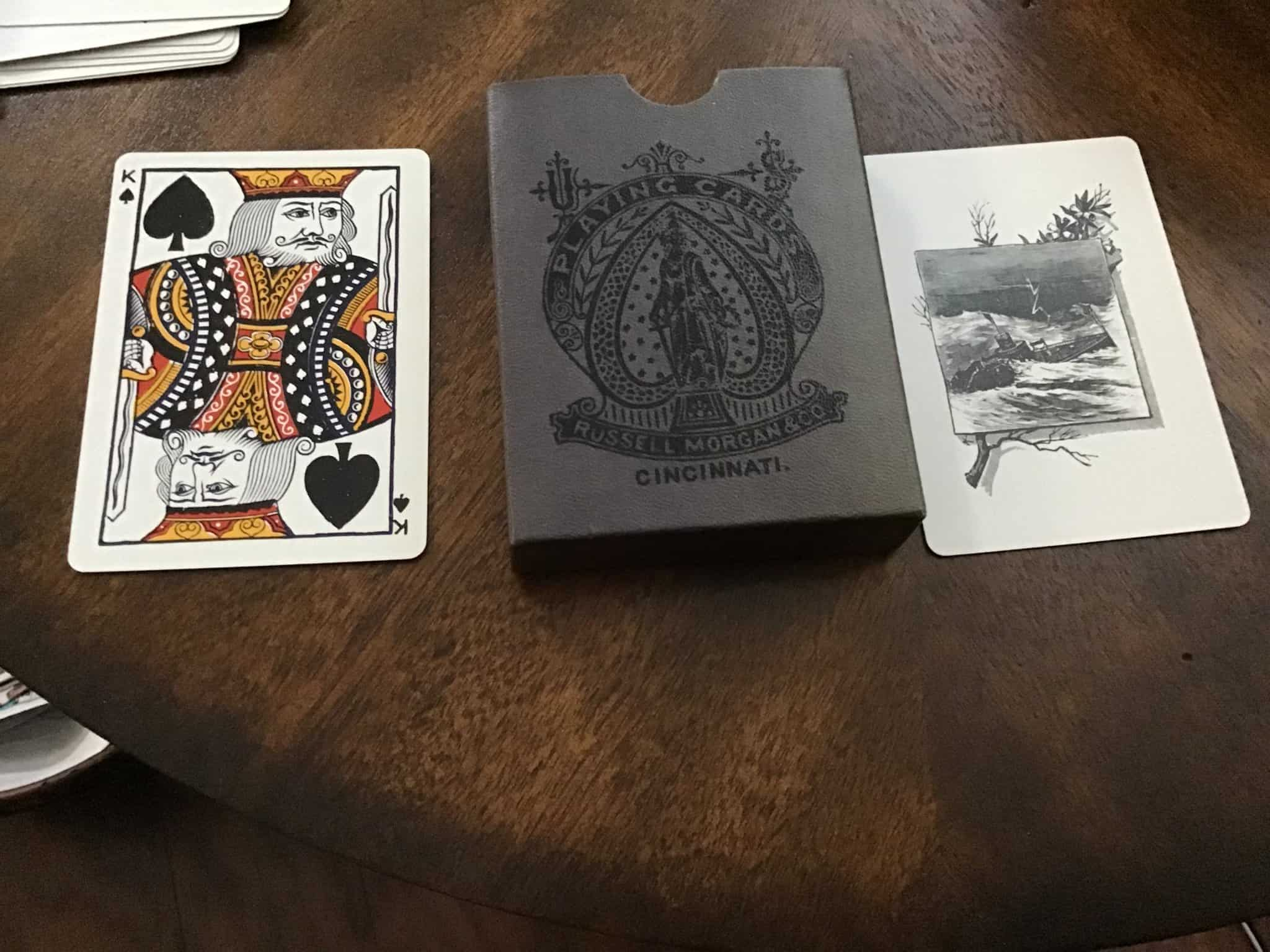 Need some help in identifying this deck from Russell Morgan & Co. Deck has never been used! Anyo