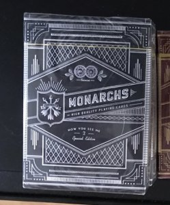 Hi everyone, I was wondering if you know the value of my 'Now you see me 2' Monarchs decks? (And